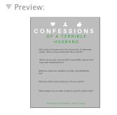 Confessions Handout Preview